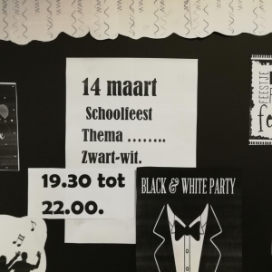 Schoolfeest: Black & White party (Sliedrecht)